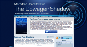 The Dowager Shadow Promotional Site