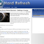 Hard Refresh Blog - Built on Genesis Framework