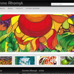 Jazmine Rhomyk Gallery - Built on Genesis Framework