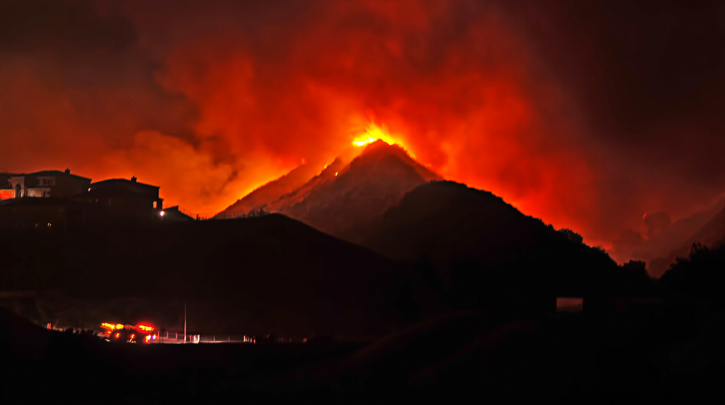 Flickr - chrisyarzab - Mountain of Fire