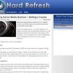 Hard Refresh Blog - Built on Genesis Framework
