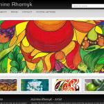 Jazmine Rhomyk Gallery - Built on Genesis Framework