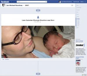 Liam Quinnlan Rhomyk-Rountree was Born, June 14th 2007 | Ian M Rountree - Facebook